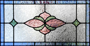 stained glass window JS08colr1h