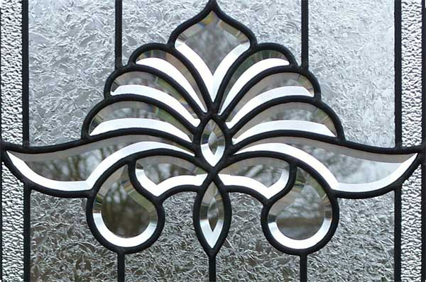 Custom leaded glass AB03 bevel set