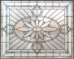 Large Stained And Leaded Glass Windows Custom Glass Design