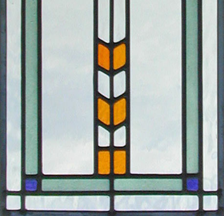 Flw38 Custom Leaded Stained Glass Window Inspired By Frank