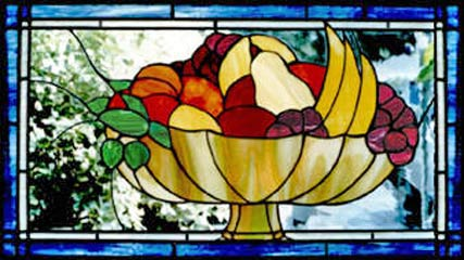 Foiled Stained Glass