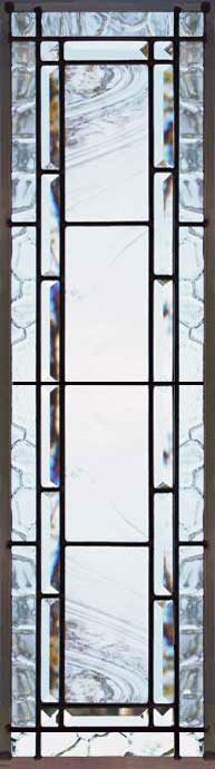 Pencilsd Custom Leaded Glass Bevel Glass Sidelight Window