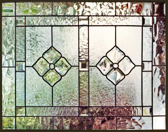 Ch1pnl Leaded Glass Bevel Window Custom Glass Design