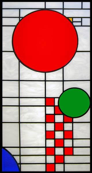 Skylight 2 Leaded Stained Glass Window Custom Glass Design