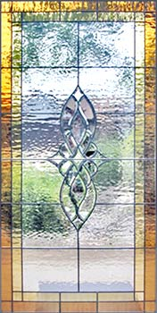HG340BIG large leaded glass bevel window