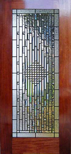 Beveled Glass Front Door