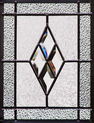 Diamondsmall Leaded Glass Diamond Bevels Window Custom