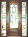 REF32PIC leaded glass bevel entry