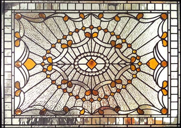 Haddingtonsp Victorian Style Leaded Stained Glass Window