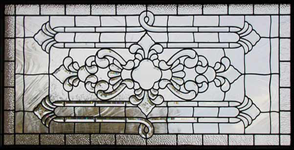 Glass Window Texture horseshoe bay leaded beveled glass transom window custom glass design