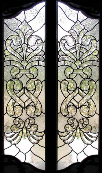 Mccrackenp Leaded Beveled Glass Door Windows Custom Glass Design