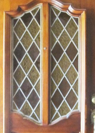Mccrackenp Leaded Beveled Glass Door Windows Custom Glass