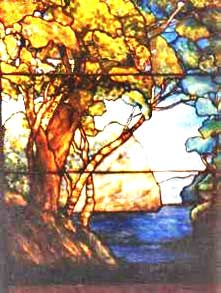 Reprotree Tiffany Reproduction Stained Glass Window