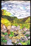 King of Glory custom religious stained glass windows