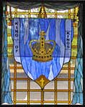 King of Kings custom religious stained glass windows