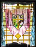 Lord of Creation custom religious stained glass windows