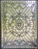 Custom Victorian style leaded glass window